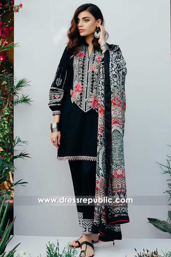 DRP7388 Zara Shahjahan Pakistani Designer Lawn 2018 Denver, Phoenix
