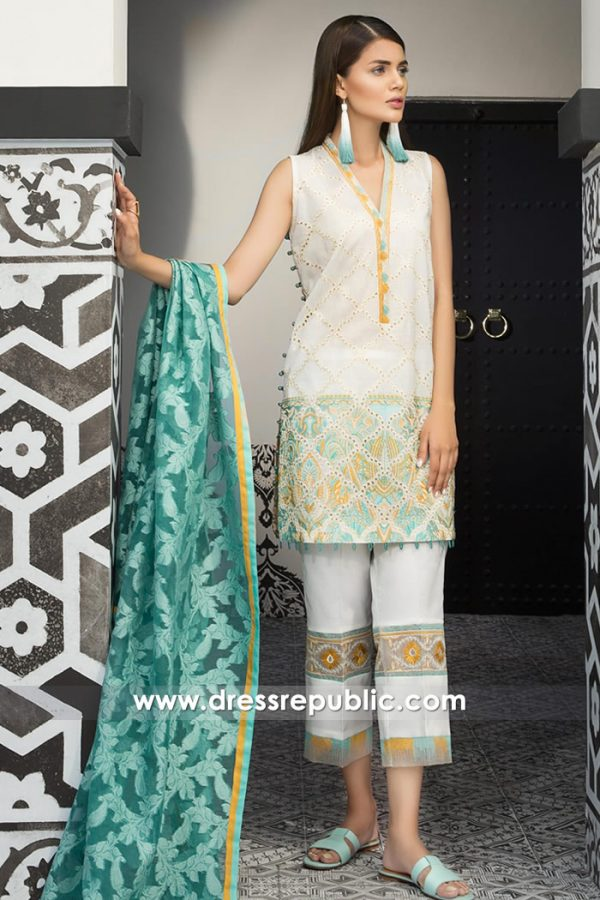 DRP7391 Mahgul Luxury Lawn by Al Zohaib Textiles 2018 Collection Online