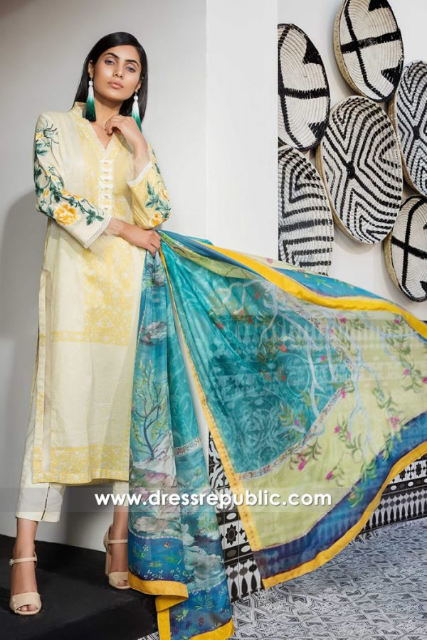 DRP7393 Pakistani Lawn Suits Online, Buy Lawn Dresses 2018 Collections