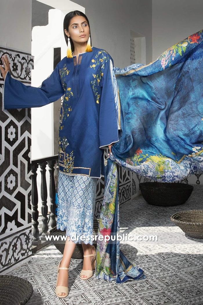 DRP7398 Cheap Lawn Salwar Kameez Printed Salwar Suits USA by Mahgul