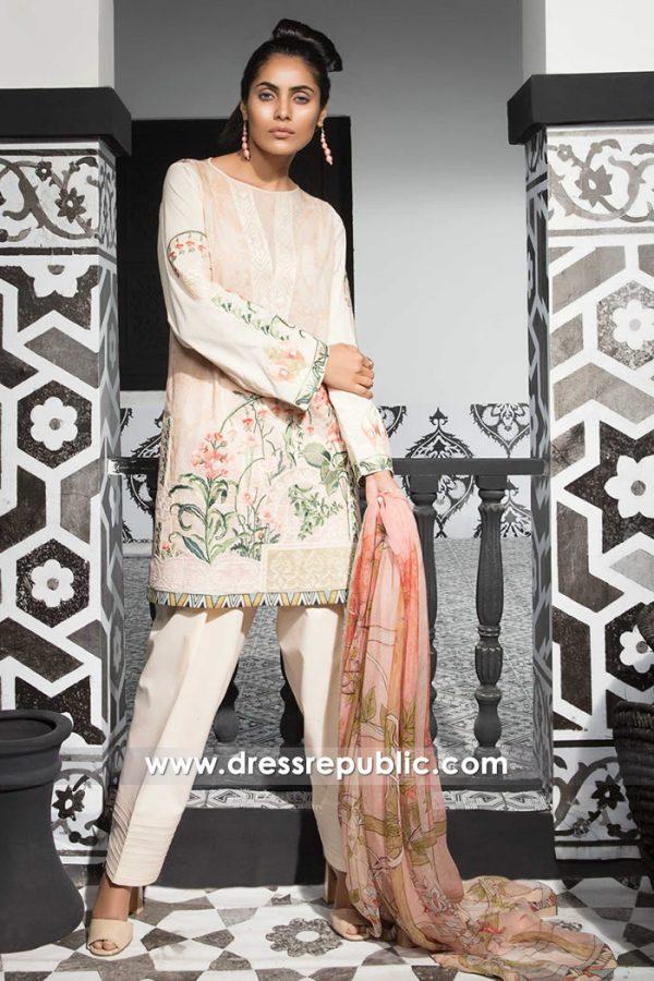 DRP7399 Cheap Lawn Shalwar Kameez Printed Salwar Suits Canada by Mahgul