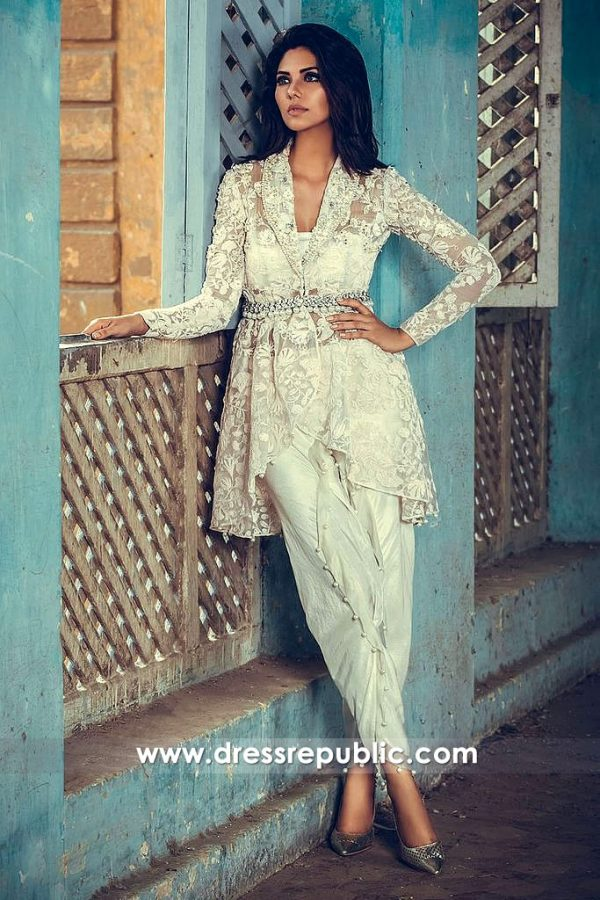dr14543 Casual Wear Shalwar Kameez Online USA by Pakistani Designers