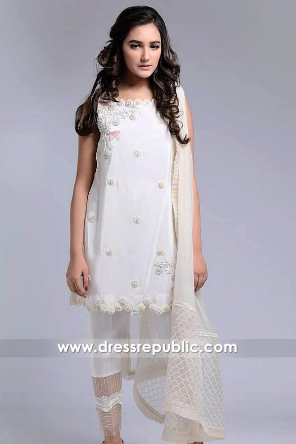 DR14596 Agha Nooor Casual Kurti London, Agha Noor Kurti Shop London, UK