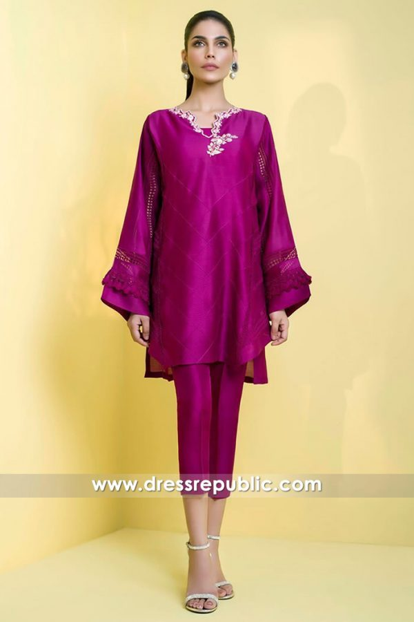 DR14602 Pakistani Designer Dresses 2018 Eid Collection Buy Online in USA
