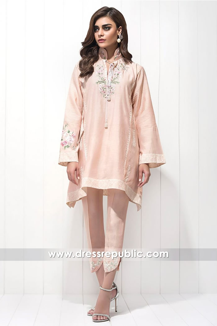 DR14605 Paradise Pink Kurti Style by Sania Maskatiya 2018 Collection Online