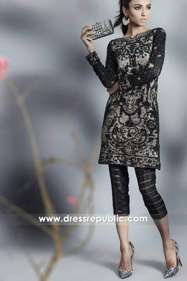 DR14643 Sana Safinaz Party Dresses 2018 USA, UK, Canada, Australia