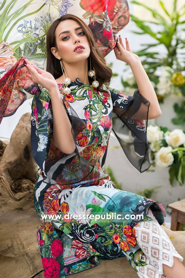 DR7492 Asifa Nabeel Lawn SS18 Vol 2 London, Manchester, Birmingham, England