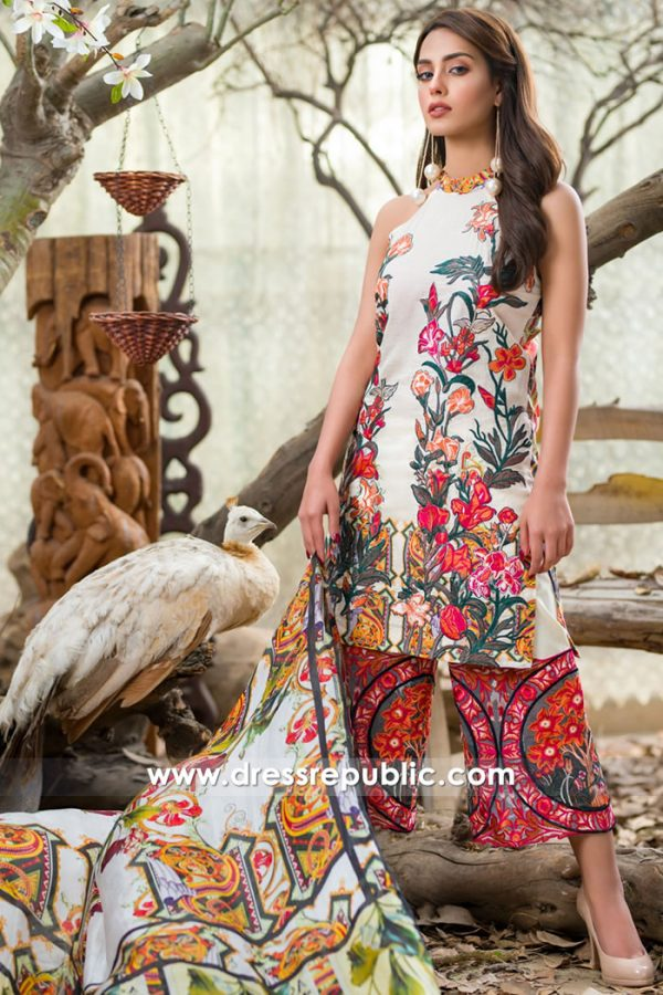 DR7498 Asifa Nabeel Lawn SS18 Vol 2 New York, New Jersey, Maryland, Georgia