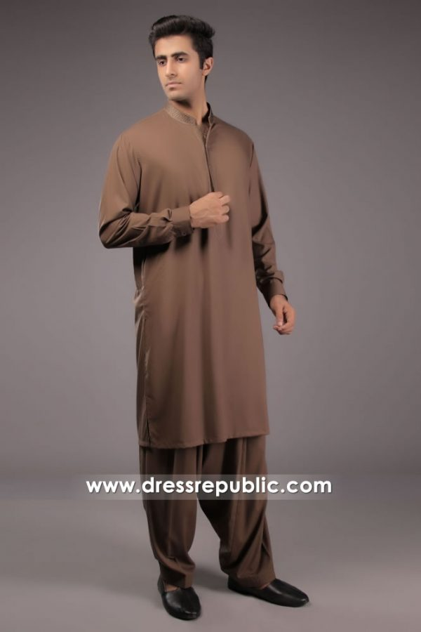 DRM5157 Designer Embroidered Kurta 2018 For Men London, Manchester, UK