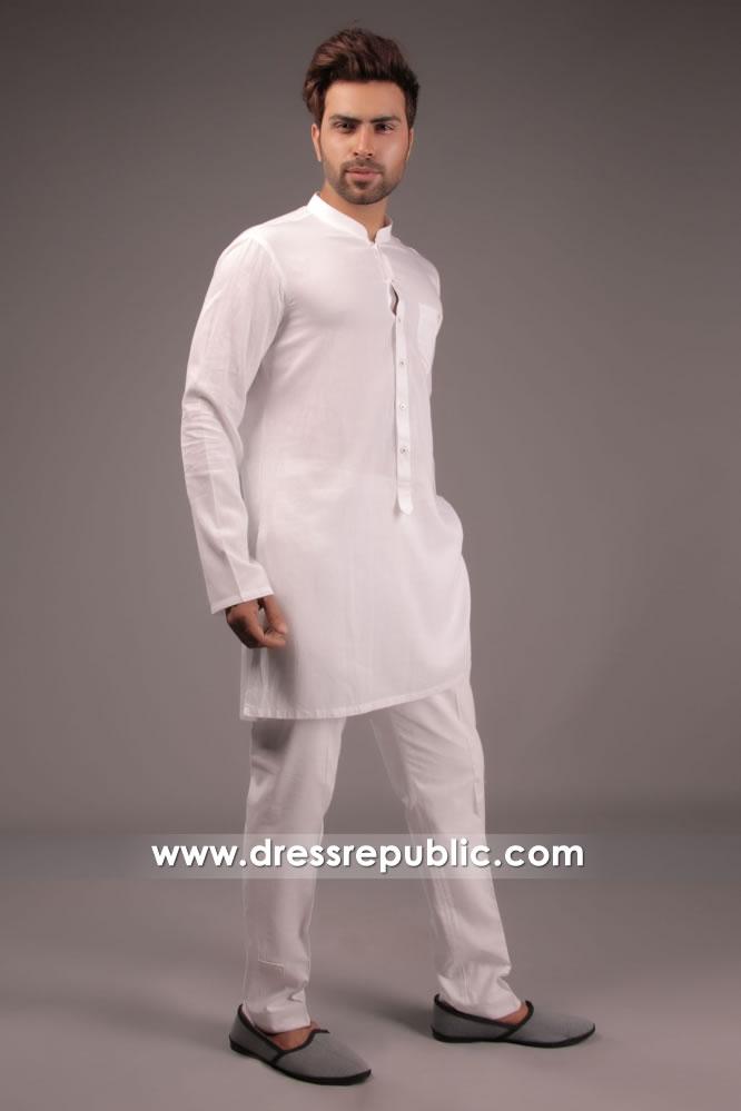 DRM5177 Online Shop for Pakistani Menswear Kurta Shalwar Kameez for EID