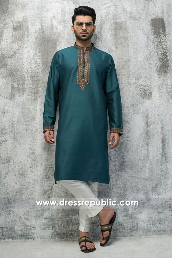 DRM5186 Men's Wedding Guest Kurta Shalwar, Salwar Kameez for Wedding Party