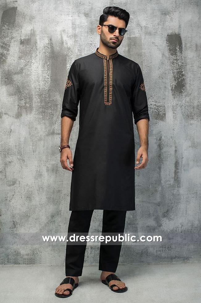 c3232ec2b4 DRM5188 Men's Kurta Shalwar for Nikkah, Formal Groom Shalwar Kameez 2018
