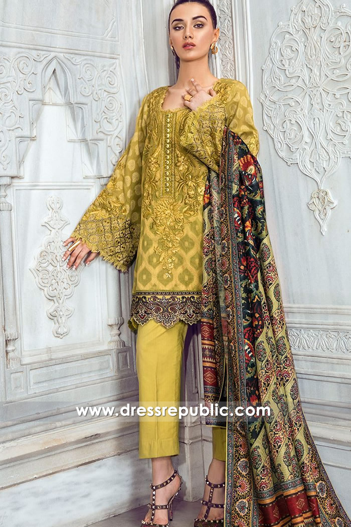 DRP7432 Pakistani Lawn Suits 2018 by Tena Durrani Lawn Shop Online