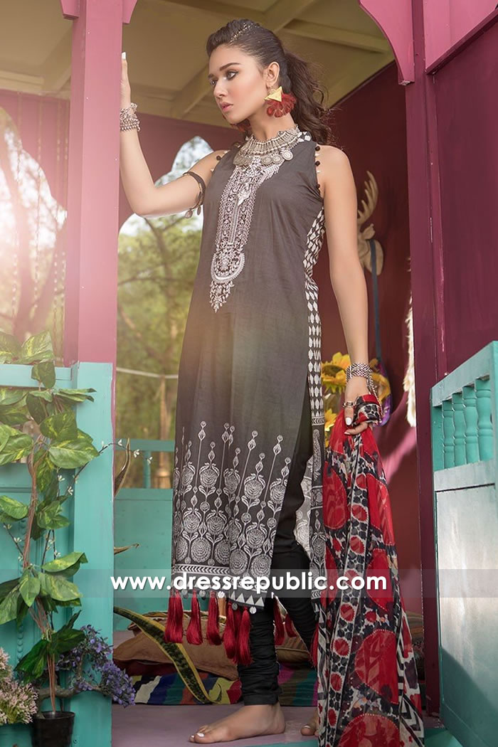 DRP7467 Maria B Prints 2018 USA, Canada, UK, Australia Lawn Suits Online Shop