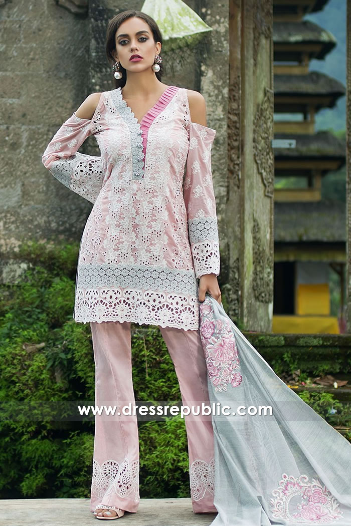 DRP7505 Zainab Chottani Chikankari Eid Festive Collection UK, USA, Canada