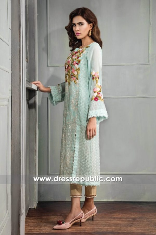 DR14670 Saira Shakira Formal Wear With Price Formal Dresses Collection 2018