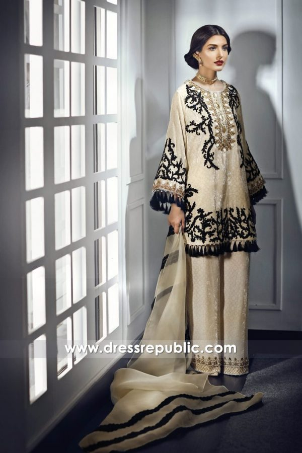 DR14677 Pakistani Designer Dresses for Ramadan 2018 London, Manchester, UK