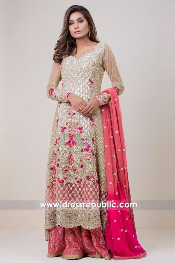 DR14706 Zainab Chottani Sharara USA 2018 Collection New York, California, Texas