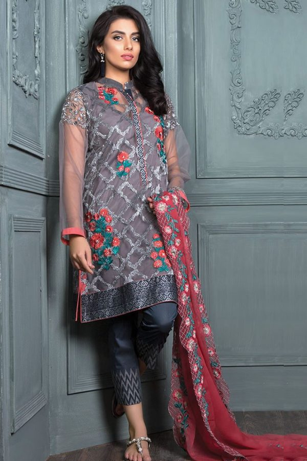 DRP7560 Orient Lawn 2018 USA, UK, Canada, Australia Orient Lawn Eid Collection