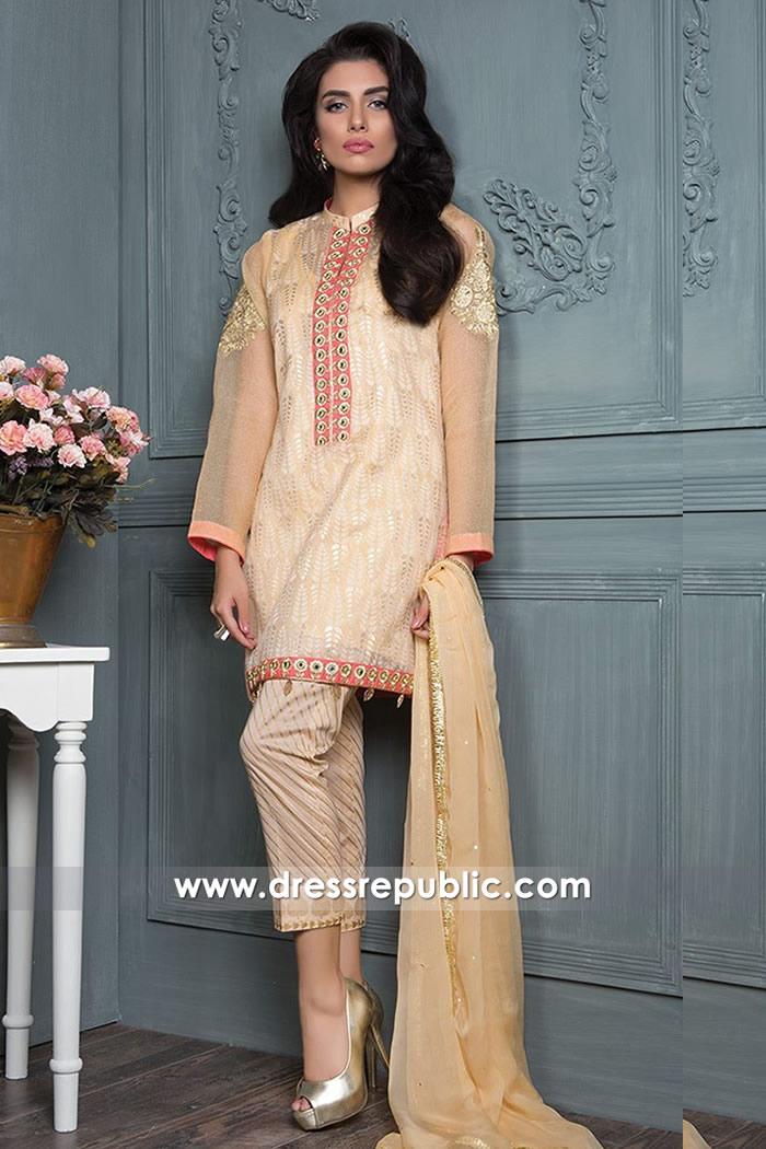DRP7567 Pakistani Lawn Chiffon, Net Dresses for EID USA, UK, Canada, Australia