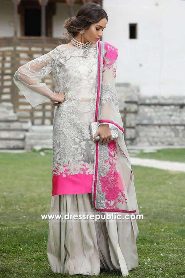 DRP7617 Sana Safinaz Luxury Eid 2018 Maryland, Virginia, Washington D.C, Ohio