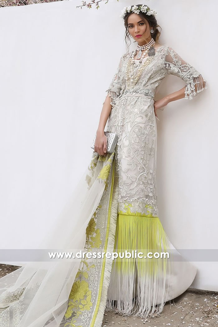 DRP7618 Sana Safinaz Luxury Eid 2018 California, Florida, New York, New Jersey