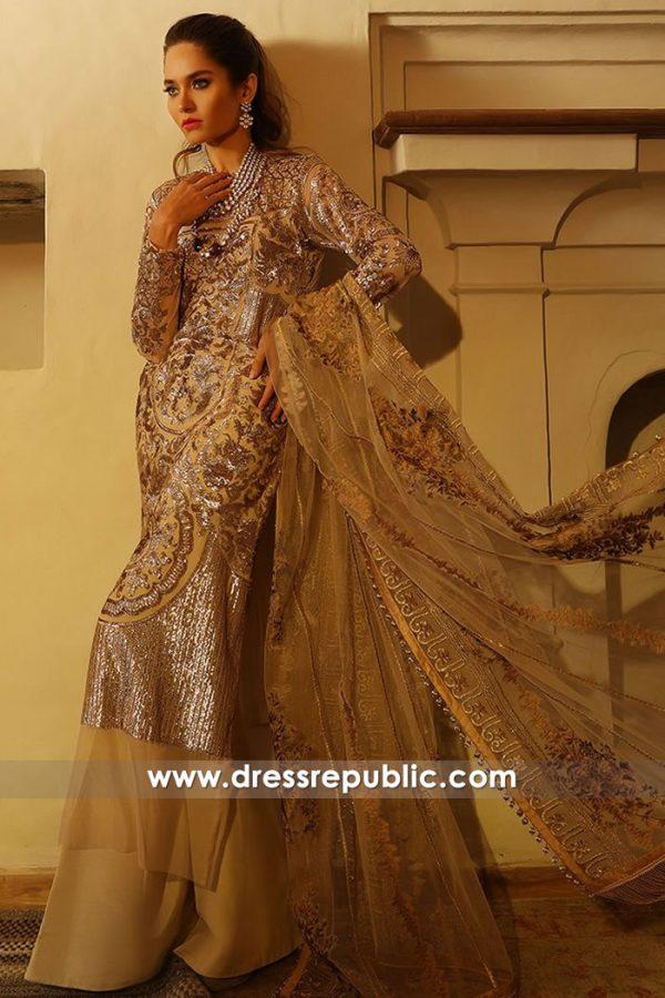 DRP7619 Sana Safinaz Luxury Eid 2018 Saudi Arabia, UAE, Malaysia, Singapore