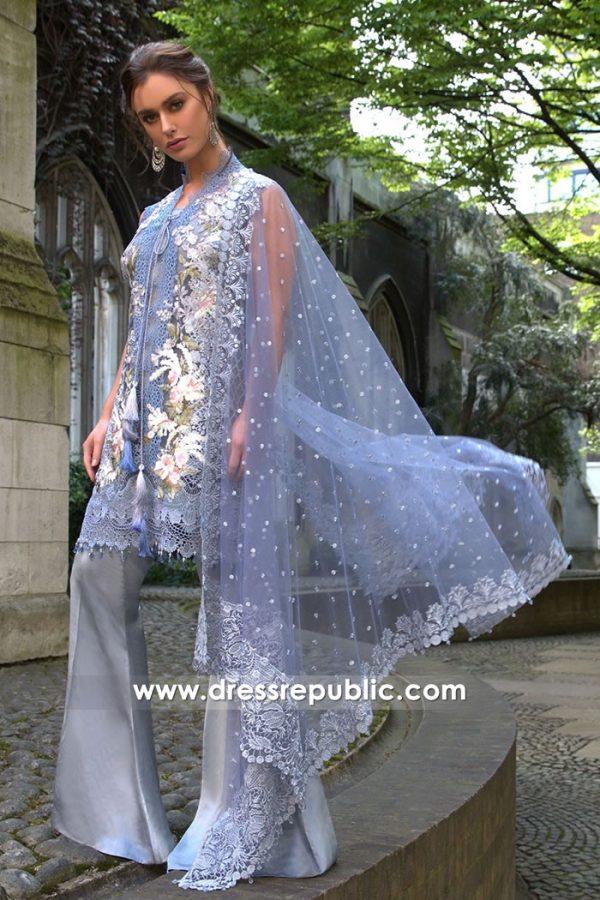 DRP7633 Sobia Nazir Luxury Chiffon Eid 2018 Ireland, France, Germany, Belgium