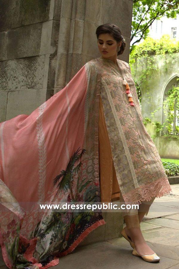 DRP7634 Sobia Nazir Luxury Chiffon Eid 2018 Toronto, Mississauga, Ontario