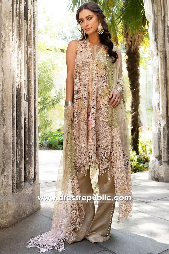 DRP7641 Sobia Nazir Luxury Chiffon Eid 2018 Arizona, Colorado, Washington, Ohio