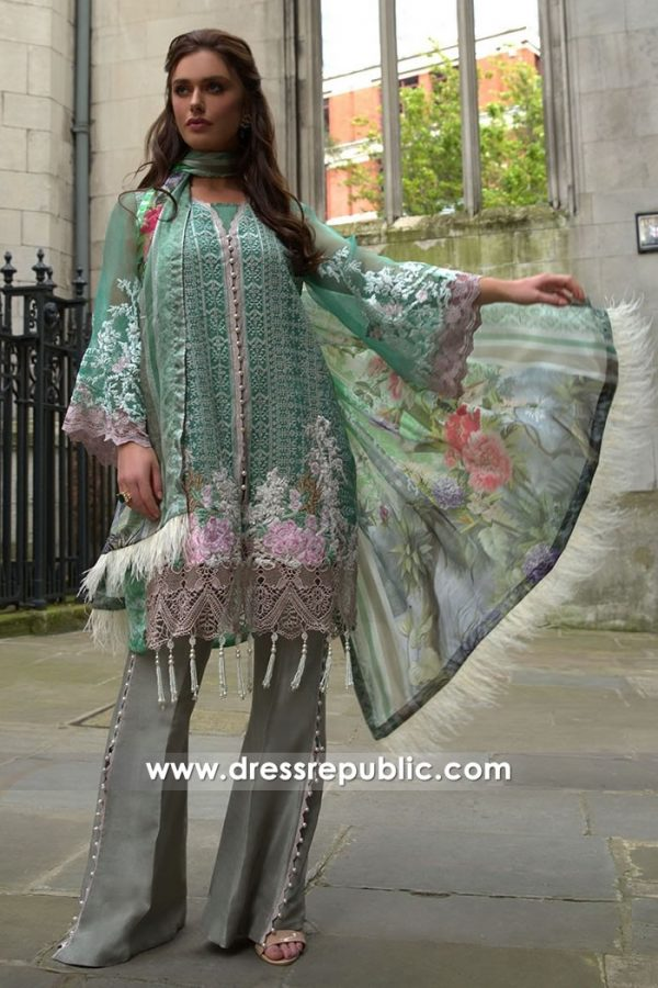 DRP7642 Sobia Nazir Luxury Chiffon Eid 2018 Vancouver, Surrey, Burnaby, BC