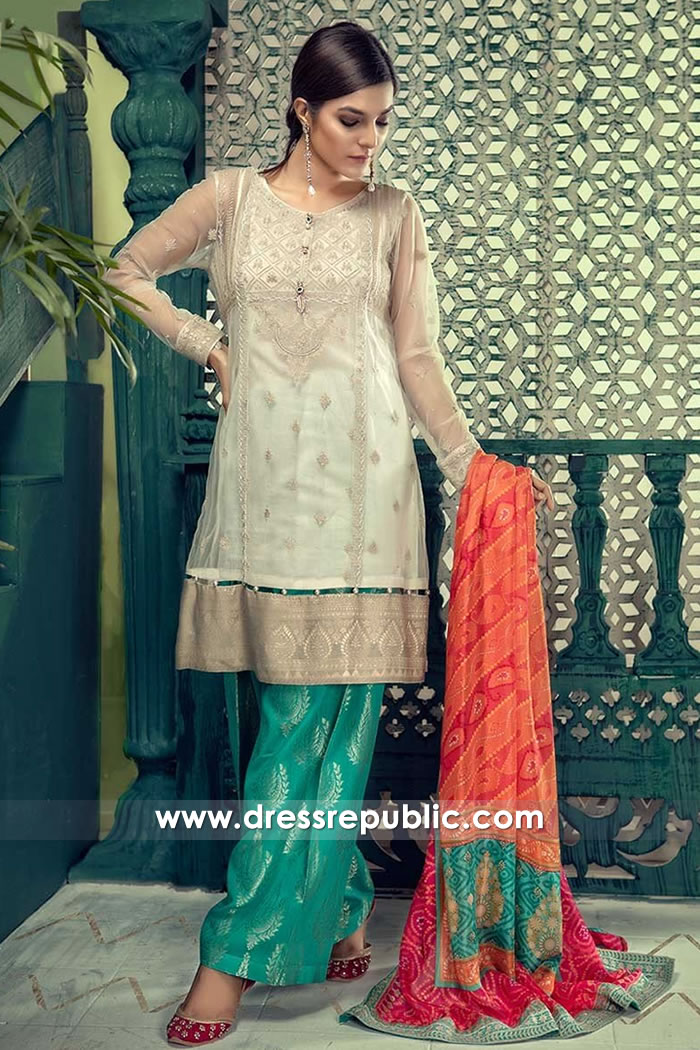 DRP7675 Maria B Lawn Eid Collection 2018 Toronto, Mississauga, Vancouver