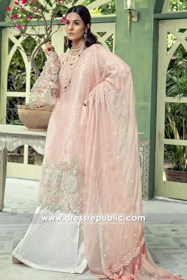 DRP7678 Maria B Lawn Eid Collection 2018 Chicago, Miami, Los Angeles, Houston