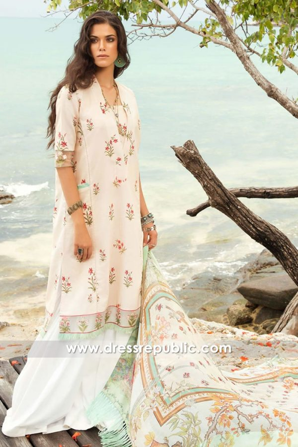 DRP7680 COCO by Zara Shahjahan Lawn Spring Summer 2018 USA, UK, Canada