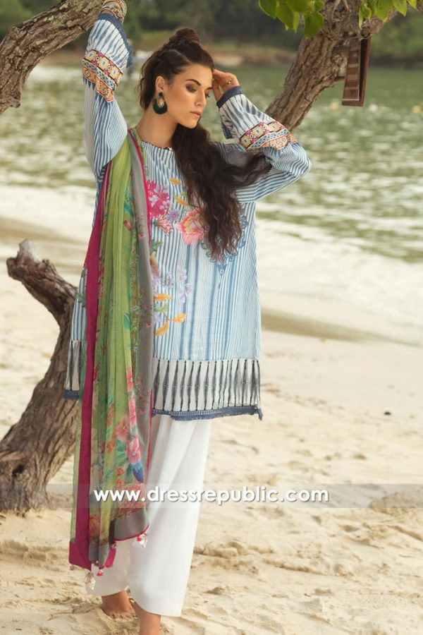 DRP7687 Zara Shahjahan Lawn SS18 Florida, Maryland, Massachusetts, Virginia