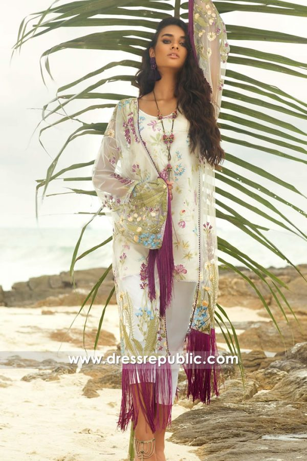 DRP7692 Cotton Printed Shalwar Kameez Lawn Suits 2018 Franklin, Iselin, NJ