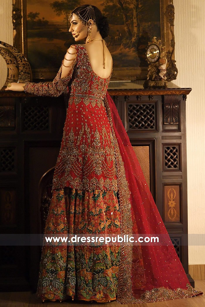 DR14774 Dress Republic Bridal Lehenga 2018 Collection Made to Order Bridals
