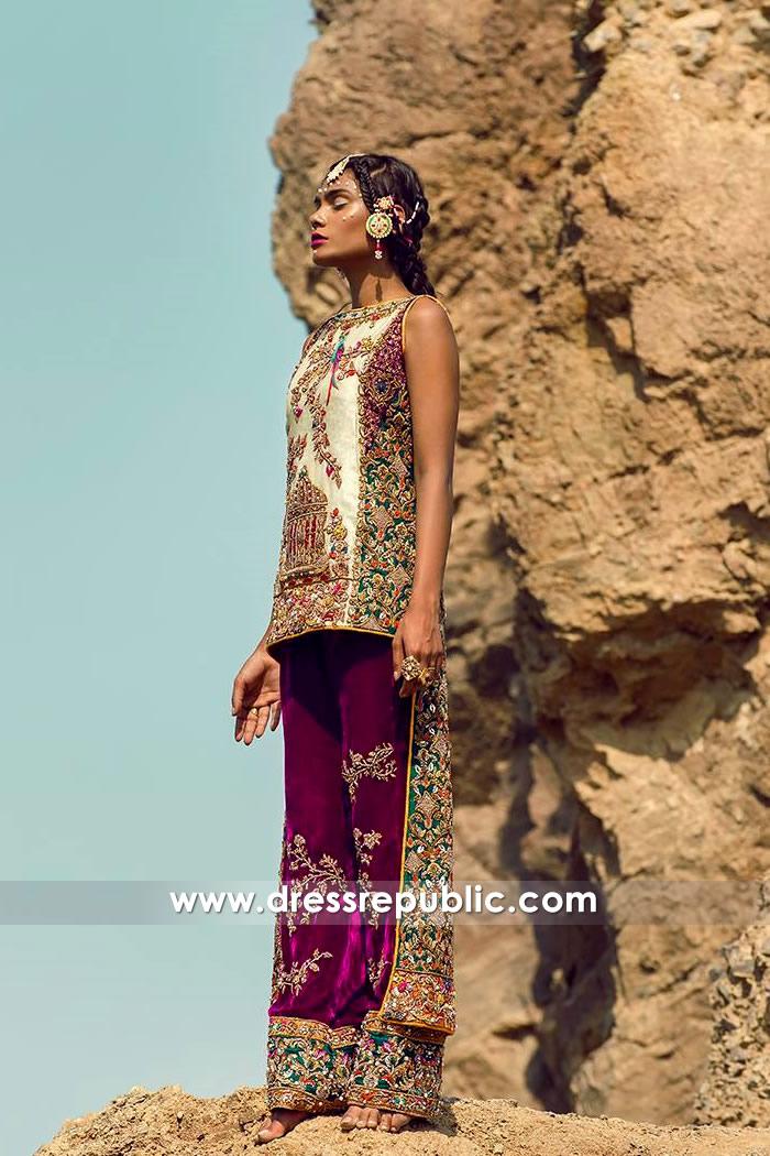 DR14777 Pakistani Heavy Formal Dress New York, California, New Jersey, Texas, USA