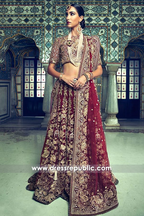 DR14783 Indian Bridal Lehenga Choli Los Angeles, San Diego, San Jose, San Francisco