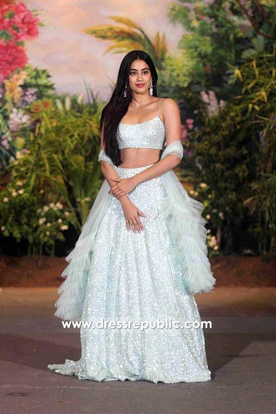 DRC1002 Janhvi Kapoor Sonam Kapoor Wedding Reception Lehenga Buy Online