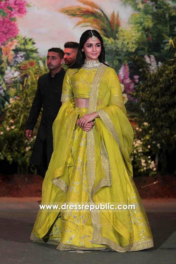 Alia Bhatt Lehenga At Sonam Kapoor Wedding Buy In Usa Uk