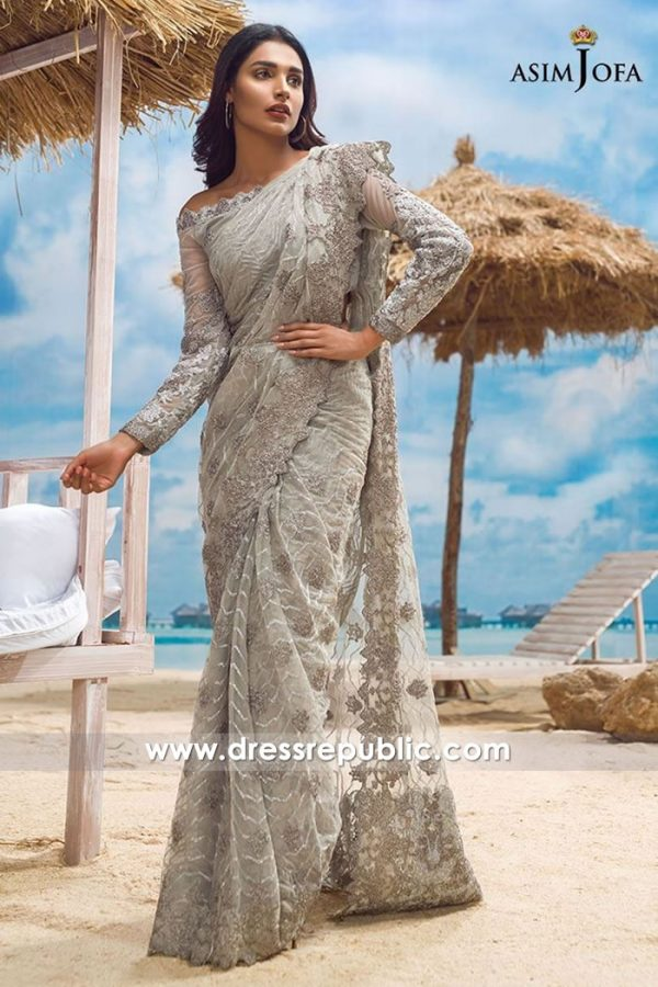 DRP7720 Asim Jofa Chiffon Eid 2018 Collection Sydney, Melbourne, Perth, Brisbane