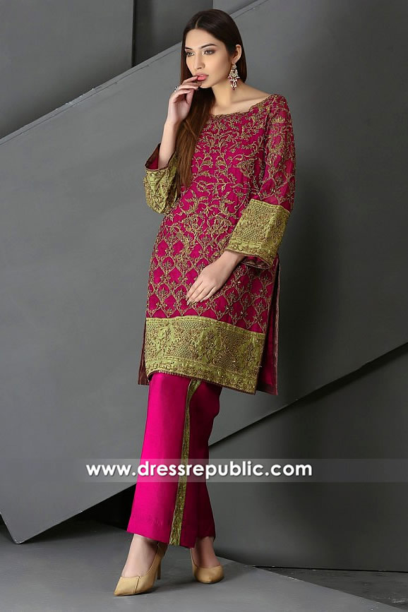 DR14847 HSY Party Wear 2018 USA, Canada, UK Australia Dresses With Price