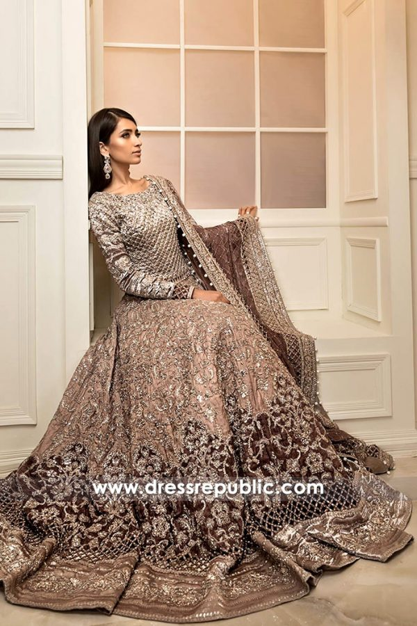DR14854 Maria B Bridal Collection 2018 Saudi Arabia, UAE, Kuwait, Qatar, Bahrain
