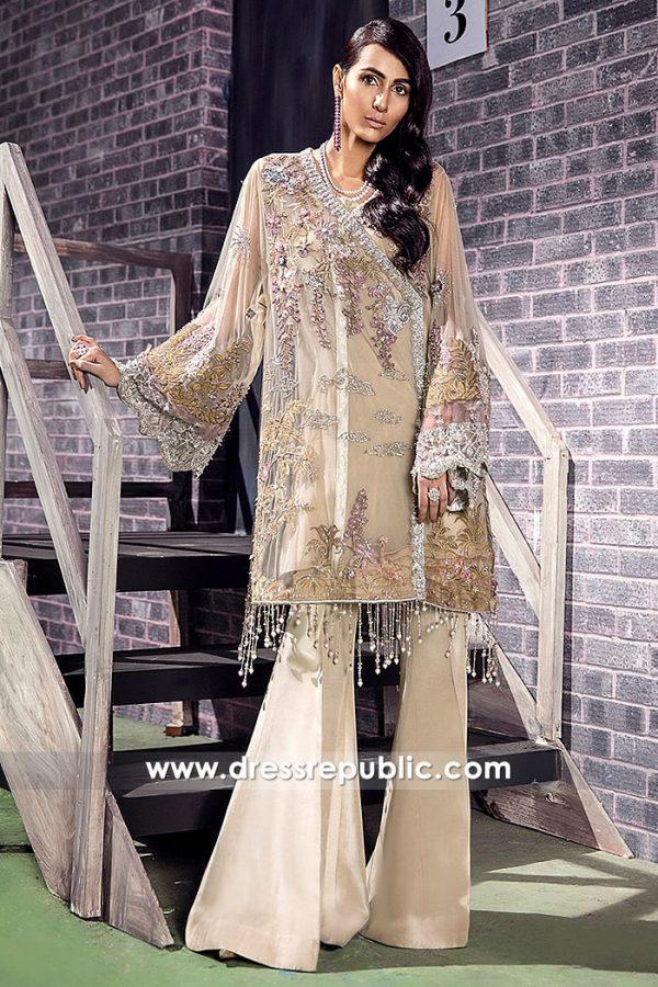 DR14873 Angarkha Style Dress London, Manchester, Birmingham, Sheffield, UK