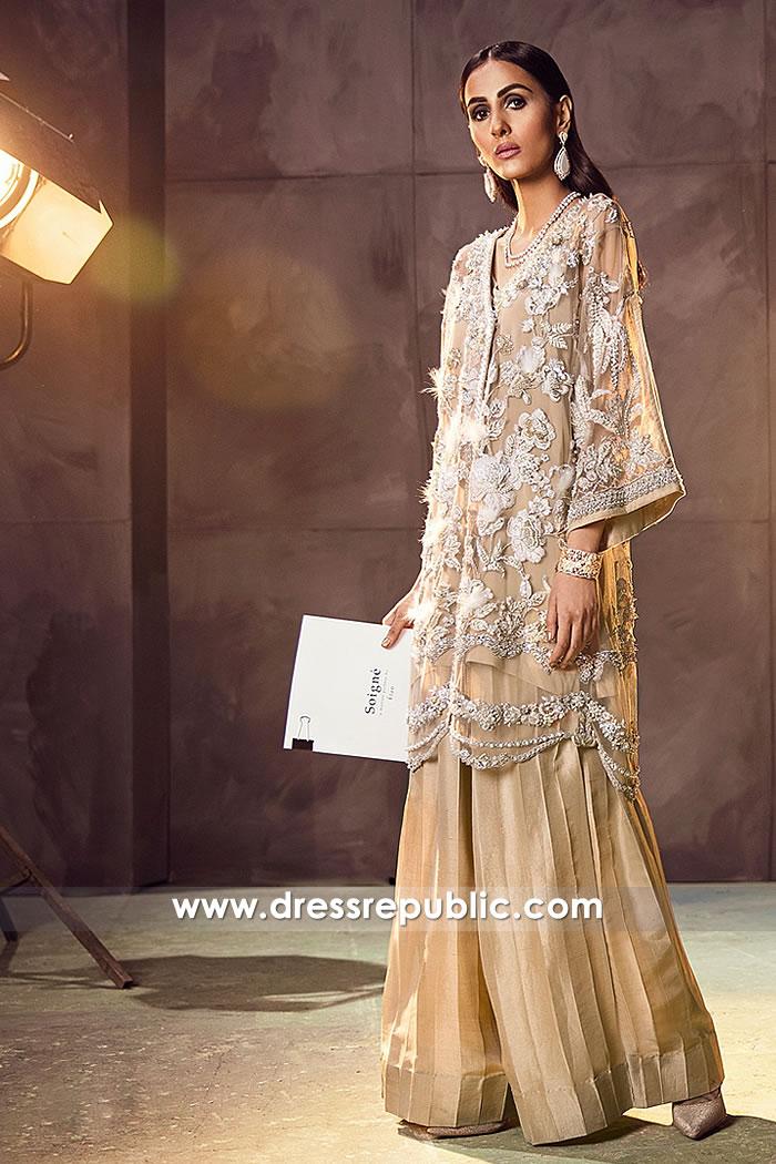 DR14874 Angarkha Dress 2018 Toronto, Mississauga, Vancouver, Canada