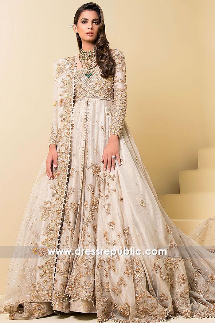 DR14888 Pakistani Designer Sarees 2018 Online USA, Canada, UK, Australia  DR14888b Sadaf Fawad Khan Clothing Brand Wedding Dresses Shop Online