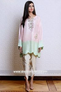DR14904 Casual Pakistani, Indian Dresses 2018 by Designers Online Shop