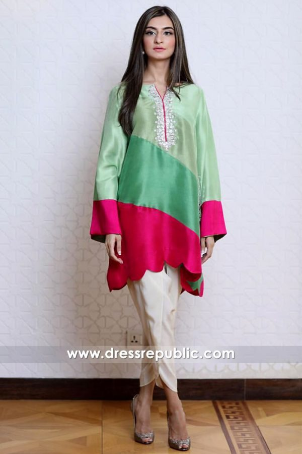 DR14905 Casual Pakistani Dresses With Tulip Pants Montreal, Quebec, Laval