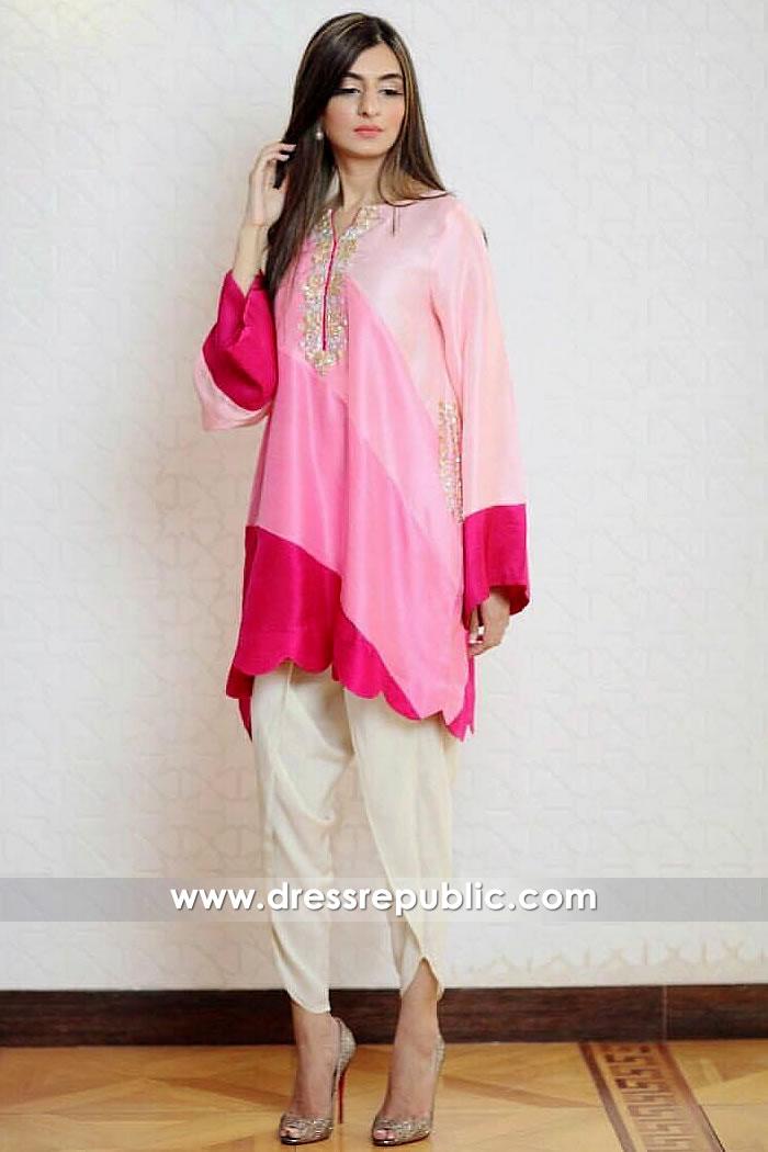 DR14907 Casual Pakistani Dresses 2018 Sacramento, Fresno, San Francisco, CA